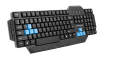 Esperanza Seaker gaming keyboard Black/Blue EN