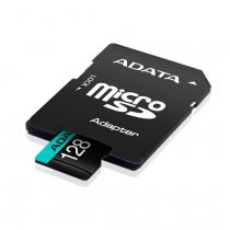 A-Data 128GB microSDXC Premier Pro UHS-I U3 Class 10 (V30S) + adapterrel